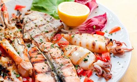 1 kg di pesce e vino a San Pietro
