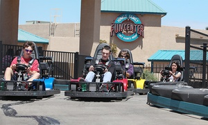 Hinkle Family Fun Center: 2, 4, 6, or 10 All-Day Unlimited Play Passes with $5 Game Card at Hinkle Family Fun Center (52% Off)