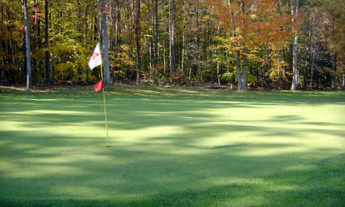 Apple Hill Golf Club - East Kingston: Golf for Two or Four at 9- or 18-Hole Course at Apple Hill Golf Club in East Kingston (Up to 58% Off)