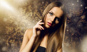 MC's Salon & Spa: Haircut with Options for Full Color, Partial Highlights, or Both at MC's Salon & Spa (Up to 51% Off)
