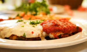 Trattoria168: Italian Dinner and Drinks for Two or Four at Trattoria168 (Up to 40% Off)