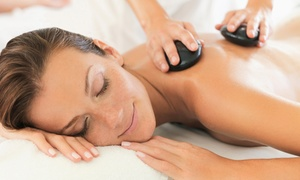 Living Mantras: 55-Minute Massage with Optional Hot-Stone Therapy at Living Mantras (Up to 30% Off)