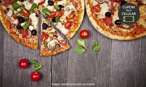 Dei Fratelli: Dei Fratelli - Ponta da Praia: 1 ou 2 pizzas grandes (sabores doces e salgados)