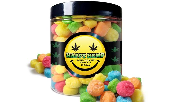 Up To 54% Off on CBD Gummies from Happy Hemp | Groupon Goods