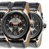 Blackjack Men's Genuine Leather Sport Watches