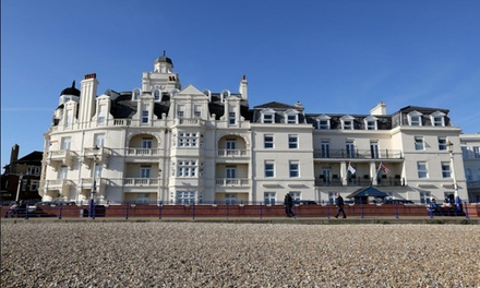 Eastbourne: 1 or 2 Nights for Two with Breakfast and Late CheckOut at Shore View Hotel