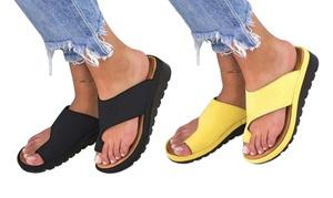 Sandales à semelles épaisses