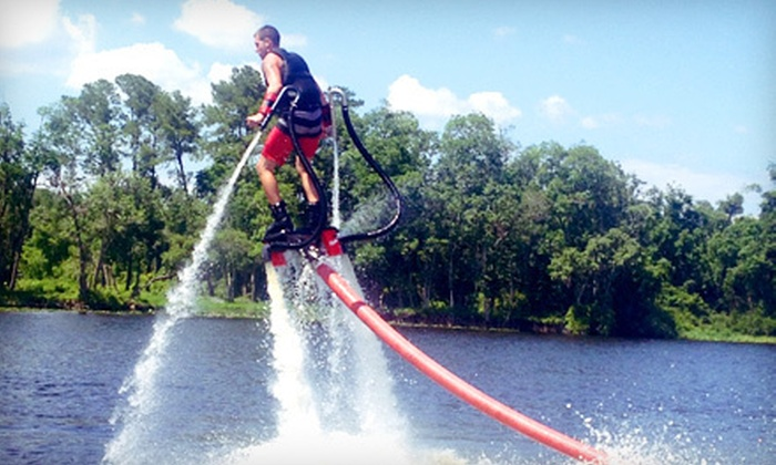 Elevated Water Sports - St Pete Beach: $109 for a One-Hour Flyboard Session with Photo and Video at Elevated Water Sports ($275 Value)