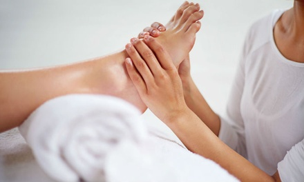 Luxe spa pedicure bij I Mind Your Step in Voorschoten