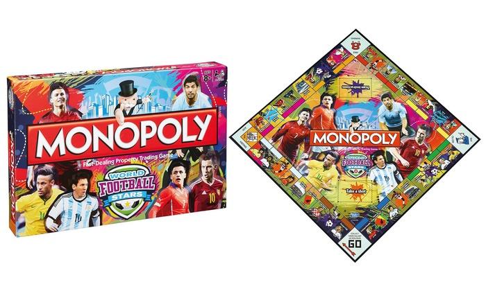 Winning Moves Monopoly World Football Stars Edition