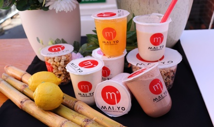 Chilled Yoghurt Drink Each for One ($3.99), Two ($7.95) or Four People ($15.90) at Maiyo (Up to $26 Value)