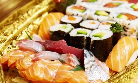 Menu royal pour 2 personnes ou Sushi party pour 4 personnes dès 49,90 € au restaurant Sushimasa Gerland