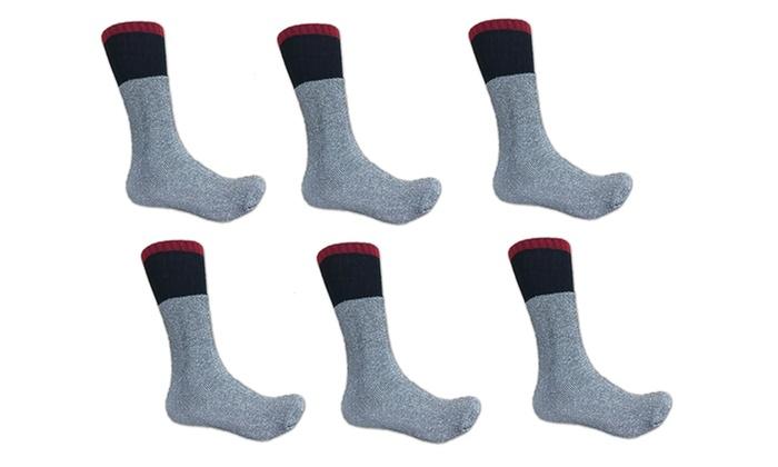 Polar Extreme Men's Thermal Socks (6-Pack)