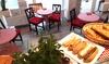 Romantisches französisches Dinner