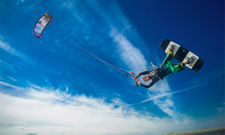 Three Hour Introduction to Kitesurfing at Pure Magic Dublin (51% Off)