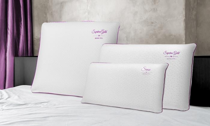 1 2 ou 4 oreillers mmoire de forme Bonne fête Sampur dès 1775€ (jusquà 86% de rduction)