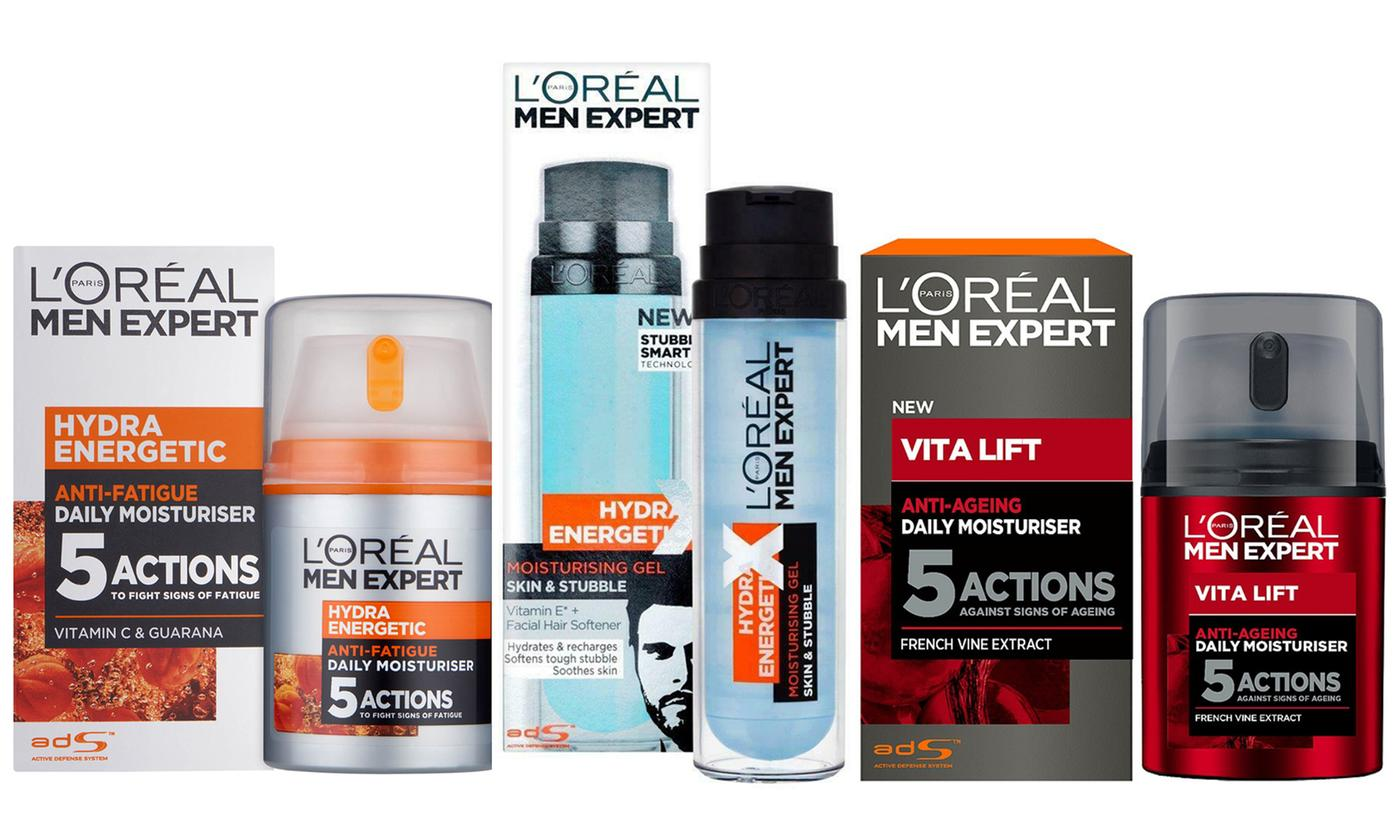 Pack of Two L'Oreal Men Expert 50ml Moisturising Creams