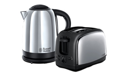 Russell Hobbs Lincoln Kettle and Toaster Set