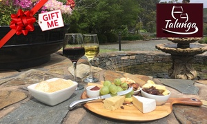 Talunga Estate: $25 for Gourmet Cheese Platter and Wine for Two at Talunga Estate (Up to $55 Value)