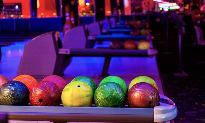 Fox Bowl - Wheaton: One-Hour Bowling Outing for Four with Shoe Rental or Four Bowling Lessons for One at Fox Bowl (Up to 79% Off)