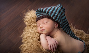 Divine Baby: Maternity and Newborn Photo Shoot or Newborn Photo Shoot at Divine Baby (Up to 88% Off)