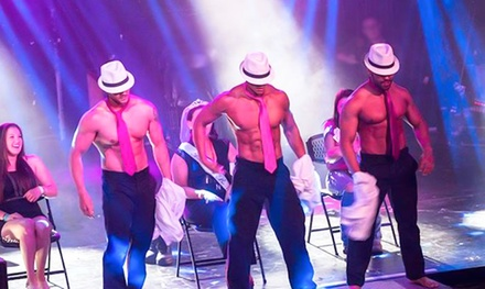 VIP Seating for Magic Revue All-Male Revue Show by Absolute Men (May 25–November 23)