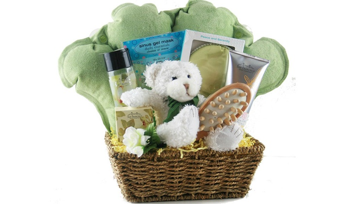 Custom gifts baskets design it yourself gift baskets groupon negle Choice Image