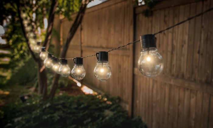 Solar Market Led Patio String Lights 1