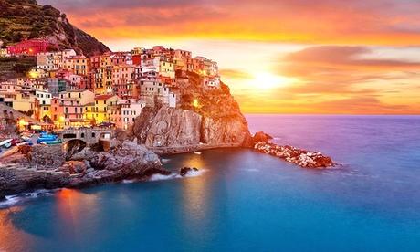 Cinque Terre: Fino a 7 notti con colazione o mezza pensione all'albergo la Veranda