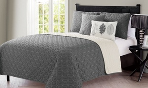 Hayden Reversible Quilt Set (5-Piece)
