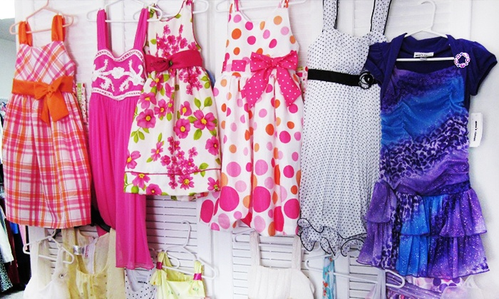 Kidz Clothes & More - Leslie: Kids' Clothes and Accessories at Kidz Clothes & More (50% Off). Two Options Available.