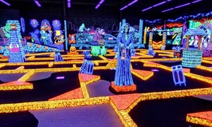 Monster Mini Golf: Four Rounds of Miniature Golf or Weekday Birthday Party for Up to 13 Kids at Monster Mini Golf (Up to 63% Off)