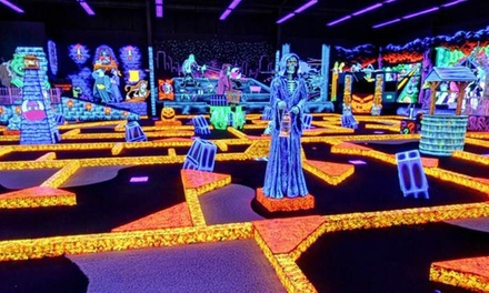 Four Rounds of Miniature Golf or Weekday Birthday Party for Up to 13 Kids at Monster Mini Golf (Up to 63% Off)
