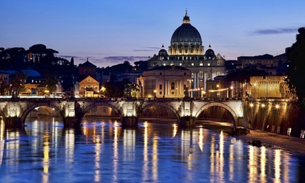 Rome: Up to 3Night Stay for Two with Breakfast and Option for ThreeCourse Dinner at Cardinal Hotel St. Peter