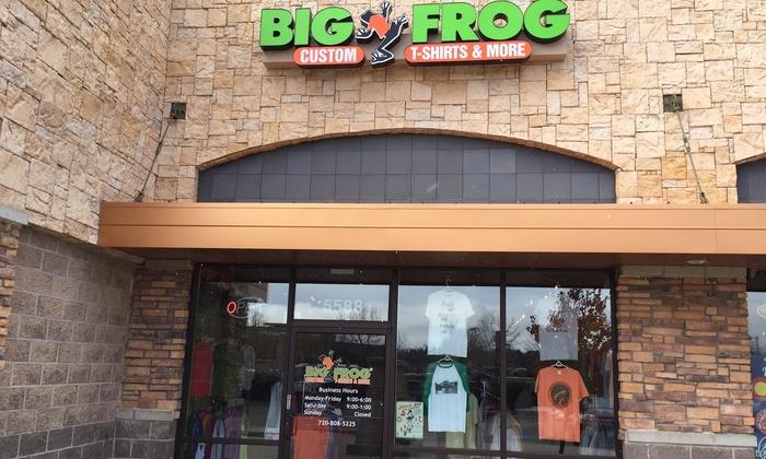 Big Frog Custom T-shirts and More - Shenandoah: Custom Clothing and Accessories at Big Frog Custom T-Shirts & More (47% Off)