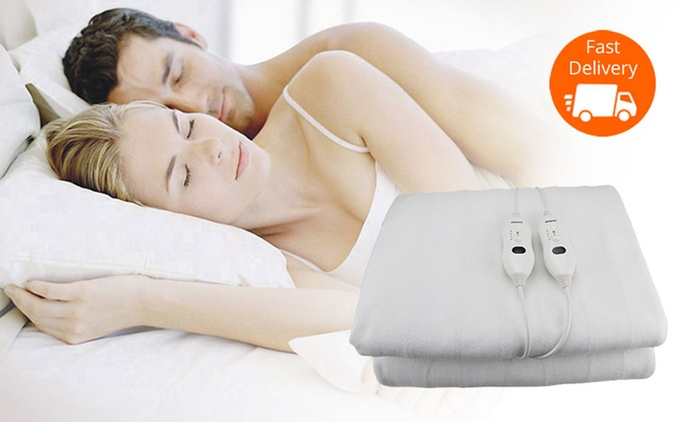Washable Electric Blanket - Single ($29), Double ($39), Queen ($49) or King ($59)