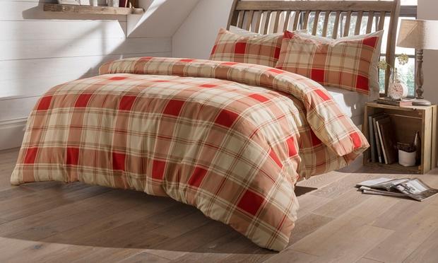 Winter Flannelette Bedding Groupon Goods