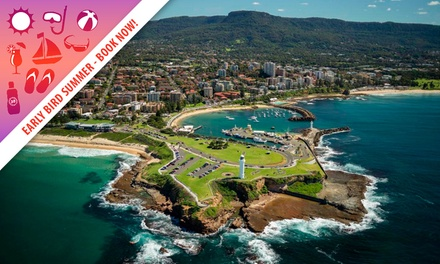Wollongong: One or TwoNight Stay for Two People with Wine, Parking and Late Checkout at Marketview