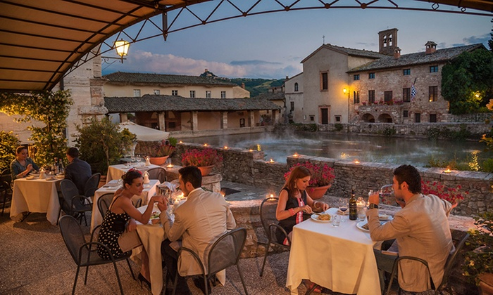 Terme bagno vignoni spa notturna per 2 persone le terme bagno vignoni groupon - Le terme bagno vignoni ...