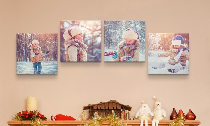 Up To 85% Off on Custom Premium Canvas Prints | Groupon Goods