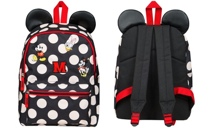 Sambro Minnie Mouse Backpack with 3D Ears