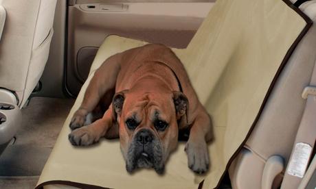 Funda protectora de asiento para mascotas Oferta en Groupon