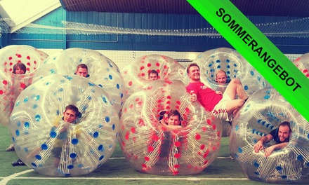 1 Std. Bubbleball mit Einweisung für bis zu 10 Personen im AKA Sportpark