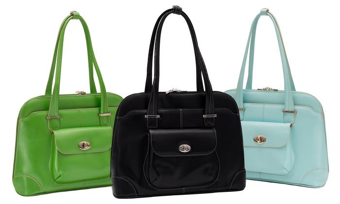 McKlein Avon Women's Leather Briefcase