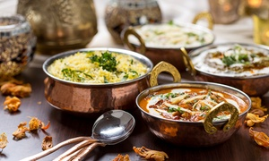 Délicieuse cuisine traditionnel indo-pakistanaise