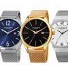 Akribos XXIV Men's Stainless Steel Mesh Collection