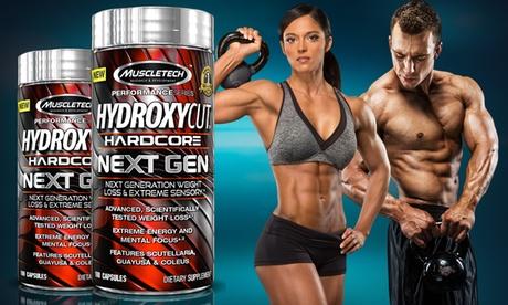 Buy 1 Get 1 Free: Hydroxycut Hardcore Next Gen Diet Supplement (100-Count)