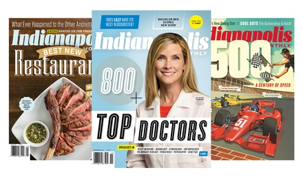 One- or Two-Year Subscription to Indianapolis Monthly (Up to 55% Off)