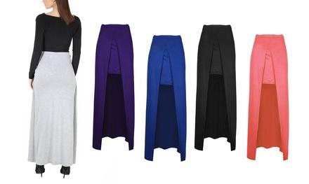 SplitFront Maxi Skirt