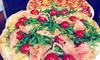 Menu pizza a scelta d'asporto